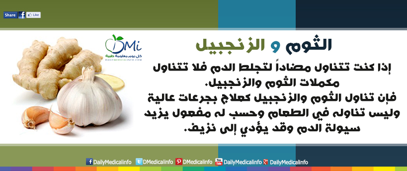 DailyMedicalinfo Garlic and ginger