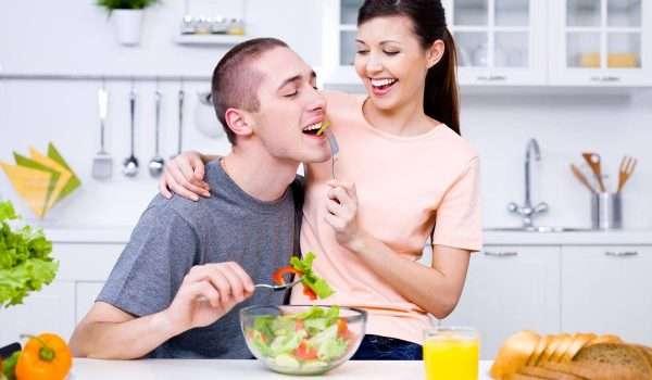 التغذية الصحية بعد الزواج