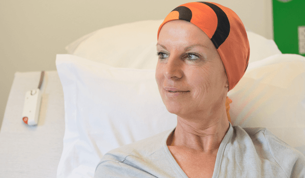 مريض السرطان