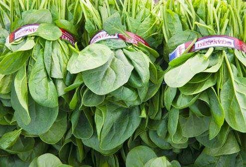 إي كولاي: الخضروات الطازجة