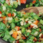 الخضروات المليئة بالماء