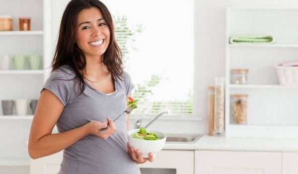 التغذية السليمة اثناء الحمل