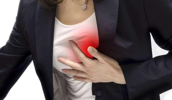 الازمة القلبية