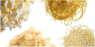 للتخلص من الكرش يفضل تناول غذاء غني بالحبوب المتكاملة أي هذه الأطعمة من الحبوب المتكاملة ؟