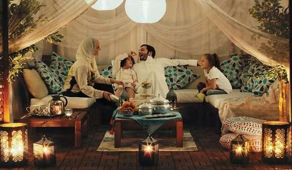 تجمع العائلة في رمضان