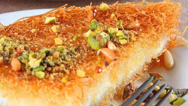 فتح الشهية في شهر رمضان الكنافة