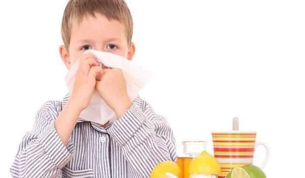علاج نزلات البرد فى الأطفال