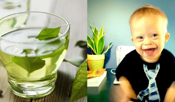 green tea down