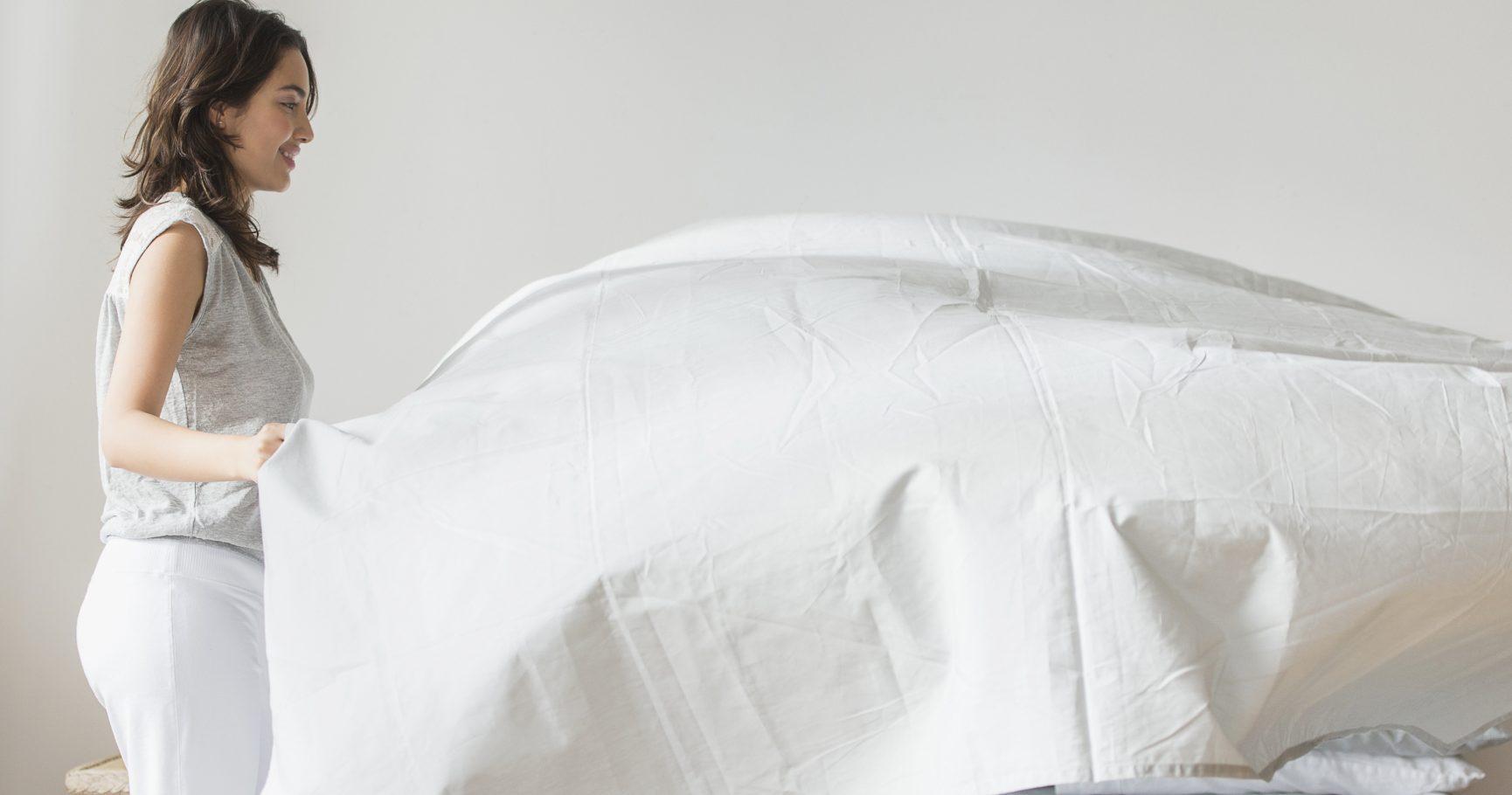 أغطية السرير