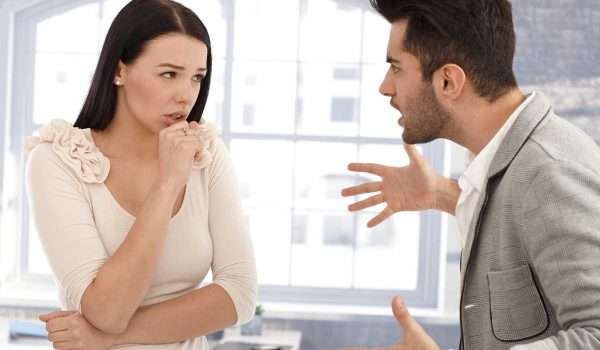 الزوج سريع الغضب