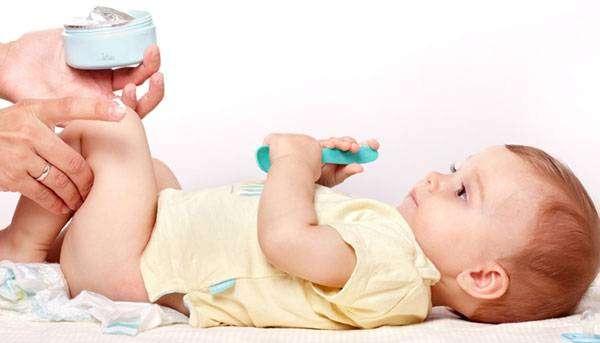 التهاب الحفاضات عند الاطفال
