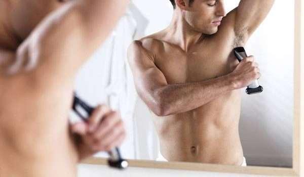 ازالة شعر الجسم عند الرجال