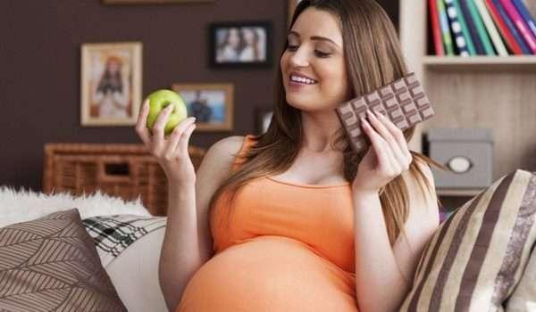 زيادة الوزن اثناء الحمل