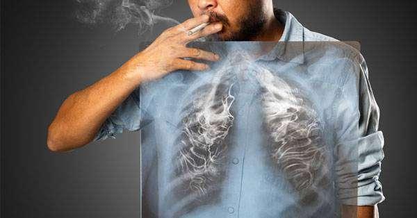تنظيف الرئتين عند المدخنين