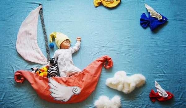 بماذا يحلم الأطفال الرضع