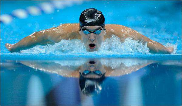 فوائد السباحة سباحة الفراشة