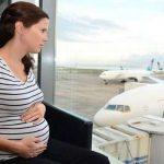 السفر اثناء الحمل