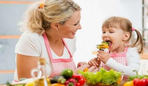 الخضروات للاطفال