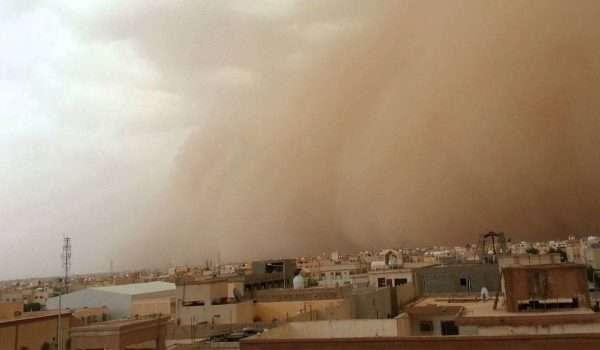 تأثير الرياح على صحة الانسان