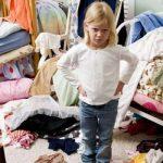 ترتيب ملابس الاطفال