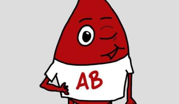 فصائل الدم والشخصيات