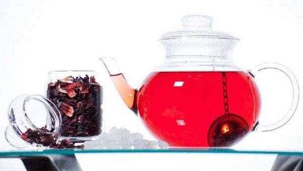 كيفية خفض ضغط الدم كركدية ساخن
