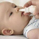 علاج انسداد الانف عند الرضع
