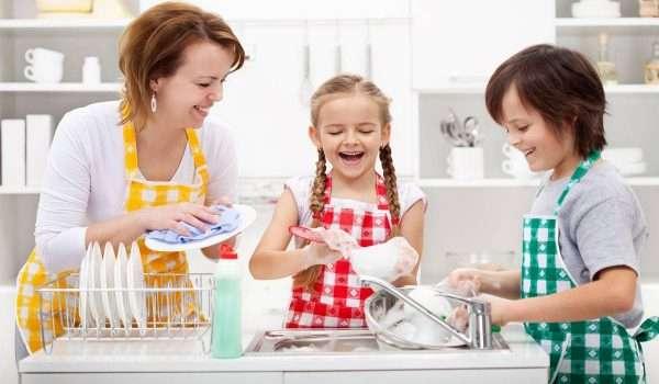 اعمال منزلية للاطفال