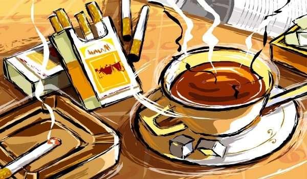اضرار القهوة والسجائر