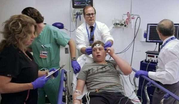 العلاج بالصدمات الكهربائية