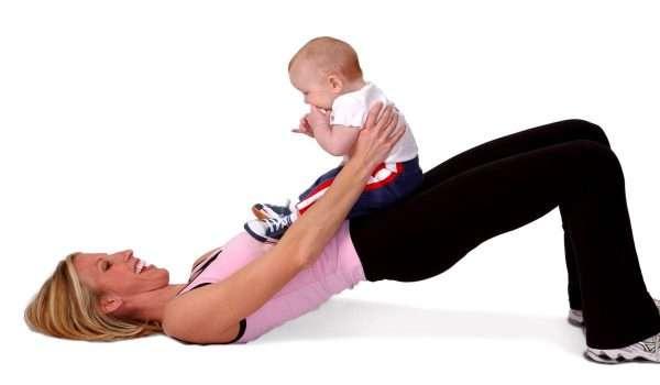 تمارين البطن بعد الولادة