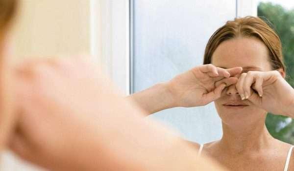 افرازات العين