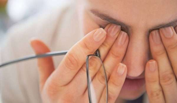 ضعف البصر