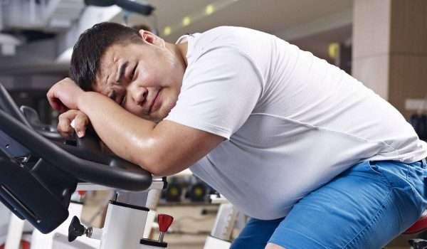 عدم فقدان الوزن