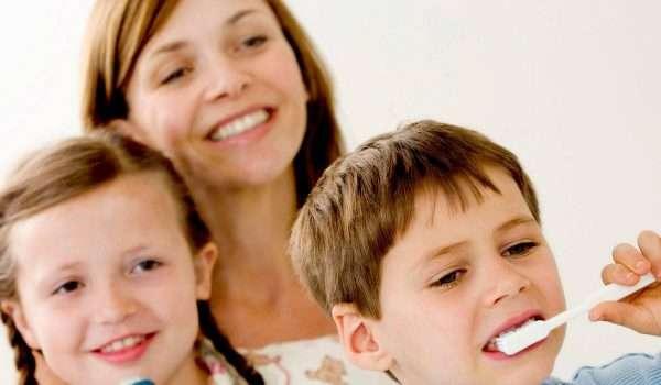 نظافة اسنان الاطفال