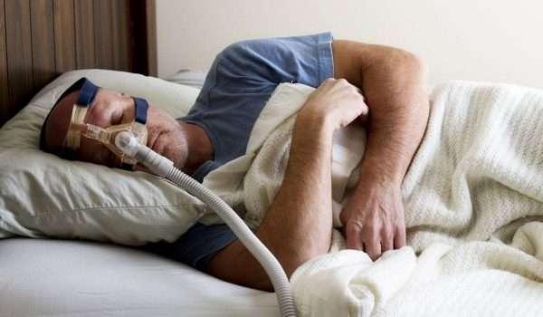 انقطاع التنفس اثناء النوم