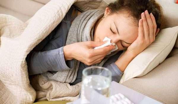 علاج سيلان الانف