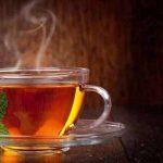 كوب شاي ساخن