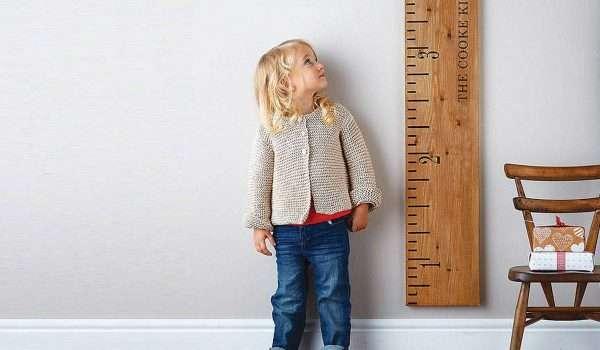 طول الطفل