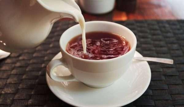 شاي بحليب