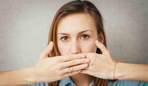 مرارة الفم قبل الدورة