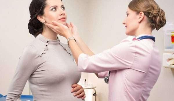الغدة النكافية والحمل