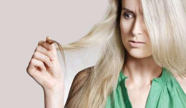 التخلص من تقصف الشعر بدون قص