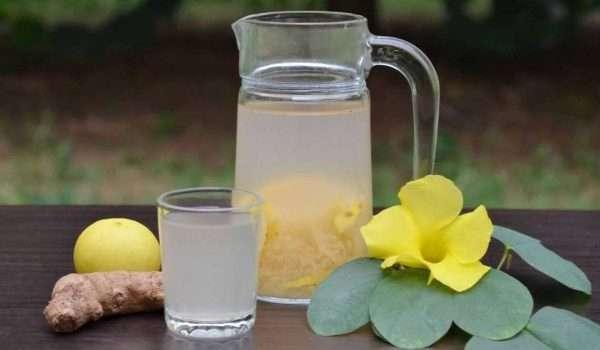 الزنجبيل والليمون للتنحيف في اسبوع