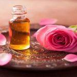 زيت الورد للتبييض