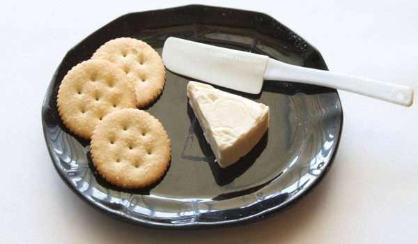 الجبن المثلثات