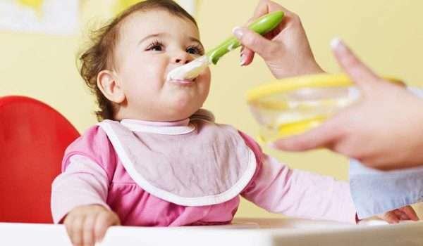 جدول طعام الطفل في الشهر التاسع