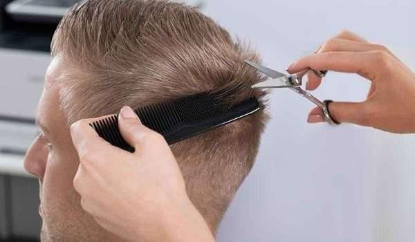 حلاقة الشعر بعد الزراعة