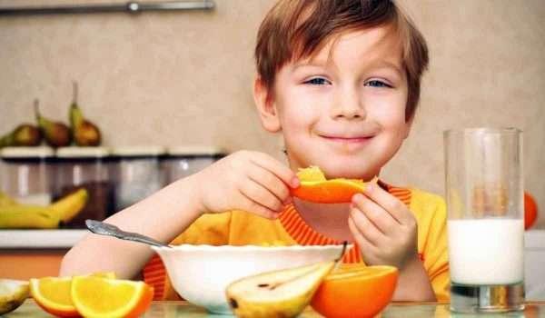 فوائد البرتقال للاطفال