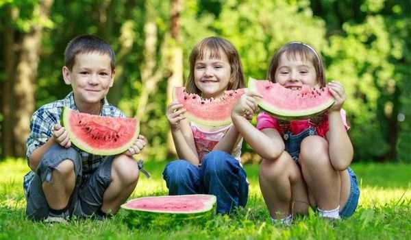 فوائد البطيخ للاطفال
